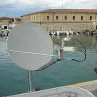 Impianti satellitari professionali